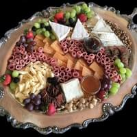 Charcuterie board for wedding reception
