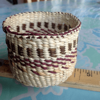 Spruce Root Basket