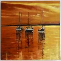 SILENT SUNSET (Sold)