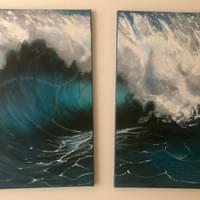 STRENGTH (2 canvases)