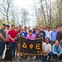 DPE Fraternity Retreat in Shenandoah