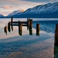 Little Paradise wharf near Glenorchy