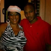 Lady E.L.L.E With Rapper Cameron
