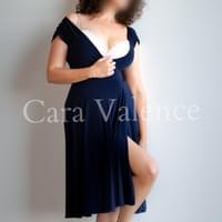 Cara Valence elegant navy dress