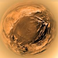 Huygens Aerial view of Titan