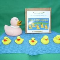 5 Little Ducks Rhyme Bag £20