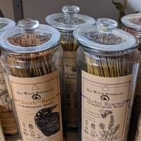 All natural incense from Sea Witch Botanicals.