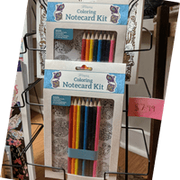 Relax.  Create.  With Wellspring Coloring Notecard Kit