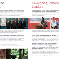 EWC annual report features EWCA Chapter Leader Ulaanbaatar