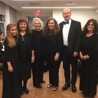Choral Artists of Carmel backstage at Carnegie Hall
