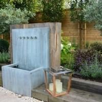 A water feature in Beaconsfield
