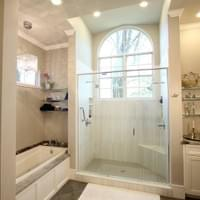 Alachua Farmhouse Master Bathroom Renovation