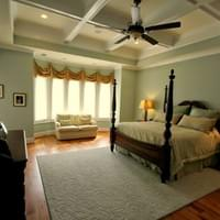 Traditional Style New Construction: Master Bedroom