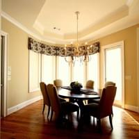 Traditional Style New Construction: Breakfast Nook