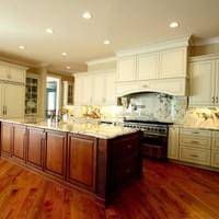 Traditional Style New Construction: Kitchen