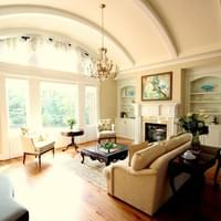 Traditional Style New Construction: Formal Living Room