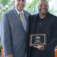 Marvin was awarded the CT State PTR member of the year in 2014