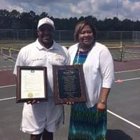 Marvin and Mayor of Emporia, VA Mary L. Person