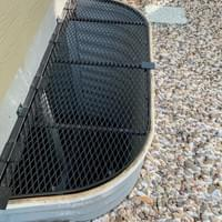 Custom Secured / Operable Window Well Grate