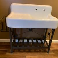 Custom Cast Iron Sink Support