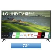 LG 75 Inch Class 4K HDR Smart LED TV w/ AI ThinQ® (74.5'' Diag) (75UM6970PUB)