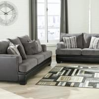 Ashley Millingar Smoke Sofa and Loveseat (78202)