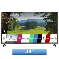 LG 4K HDR Smart LED UHD TV w/ AI ThinQ® - 49'' Class (48.5'' Diag) (49UK6300PUE)