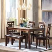 Ashley Bennox 6 Piece Dining Set (D384)