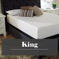 Ashley Chime 12 Inch Memory Foam King Mattress (M727)