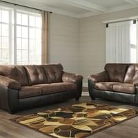 Ashley Gregale Coffee Sofa and Loveseat (91603)