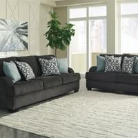 Ashley Charenton Charcoal Sofa and Loveseat (14101)
