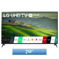 LG 70 Inch Class 4K HDR Smart LED TV w/ AI ThinQ® (69.5'' Diag) (70UM6970PUA)