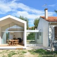 Extension d'une maison à Marseille