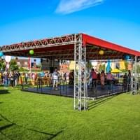 truss tents for events