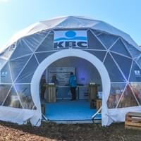 lightweight geodesic domes