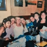 Amy & her friends at the Uplands Tavern  where she used to take part in the open mic there every Monday! 😀