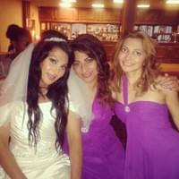 Amy, Millie & Monica at Millie's wedding!