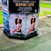Posters for Amy's album 'A Sin With Love' advertised all over The UK!