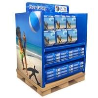 Large PDQ pallet display  for swimming accessories