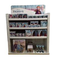 Walmart PDQ display for Frozen series products