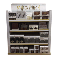 Costco paper pallet display for Harry Potter Series products