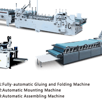 1: Fully - automatic Gluing and Folding Machine