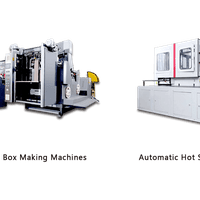 Automatic Rigid Box Making Machines    Automatic Hot Stamping Machines