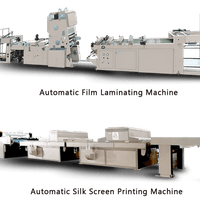 Automatic Film Laminating Machine   Automatic Silk  Screen Printing Machines