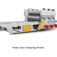 Three color Stamping Machine