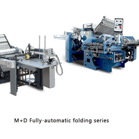 M + D Fully - automatic folding series
