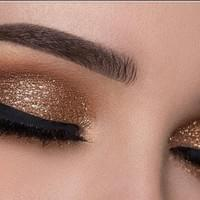 makeup with lashes