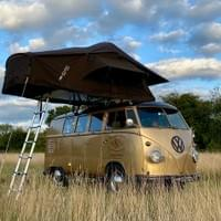 50's Bus with new Roof tent