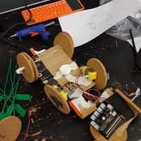 BBC Microbit Robot designed and built by 8 year old