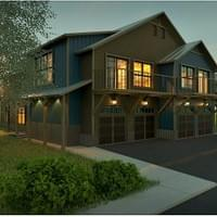 Current Project: Crested Butte 4 Units, 1 Duplex Building (2 units) Shown Here